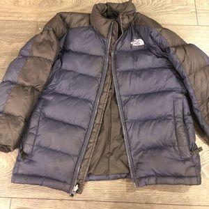 North face boys jacket size 10/12